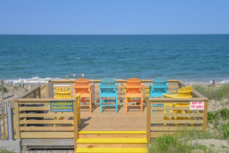 OCEANFRONT, PET FRIENDLY BEAUTIFUL 2 LEVEL CONDO, holiday rental in Kill Devil Hills