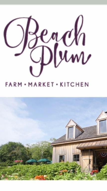 Beach Plum Farm está en nuestro vecindario y se encuentra a pocos pasos de Vineyard Vista.
