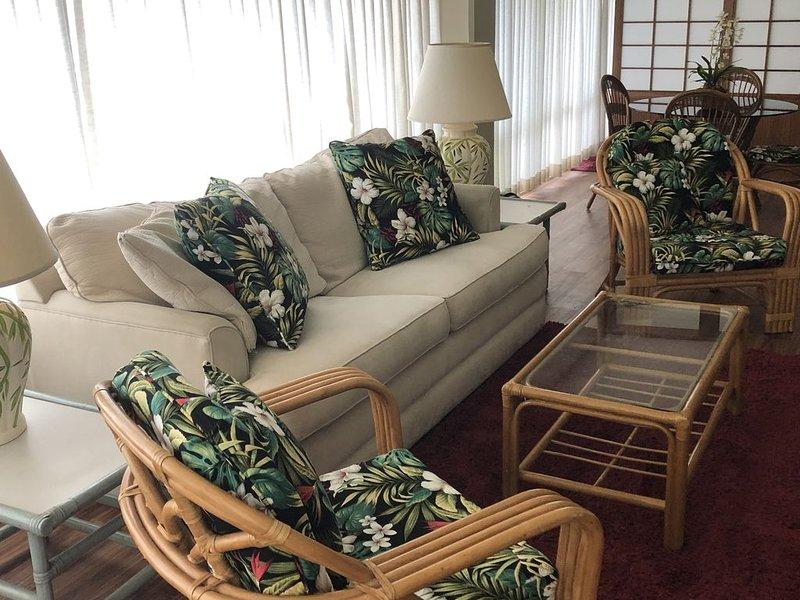 PICTURESQUE LAGOON & OCEAN VIEWS, holiday rental in Honolulu