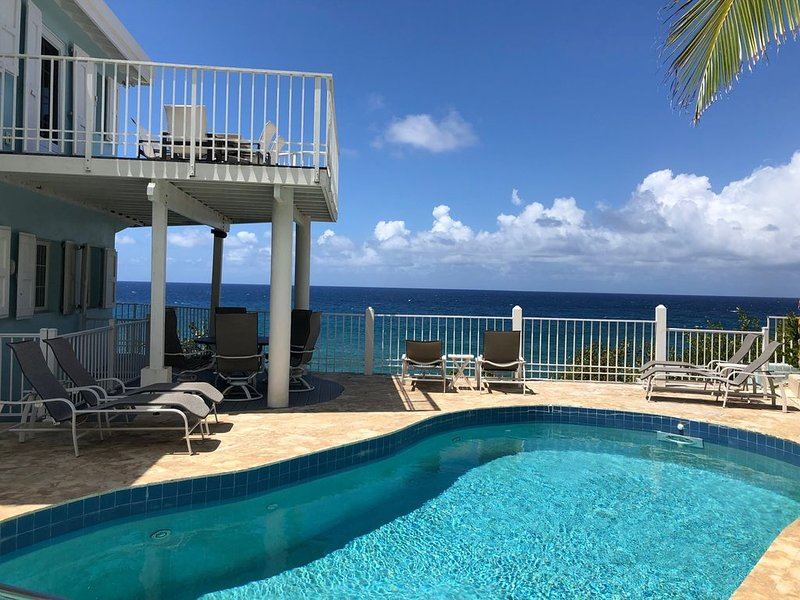 Cane Bay Dream amazing Oceanfront Villa best of Caribbean Living, vacation rental in Cane Bay