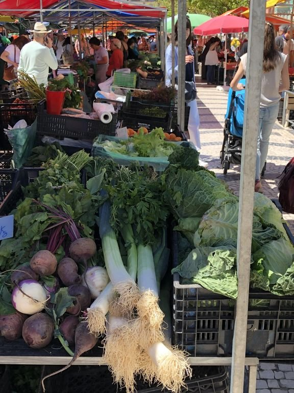 Beats Tesco! The market at Caldas