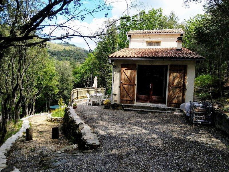 La Chênaie location touristique en Cévennes classée 3 étoiles, location de vacances à Monoblet