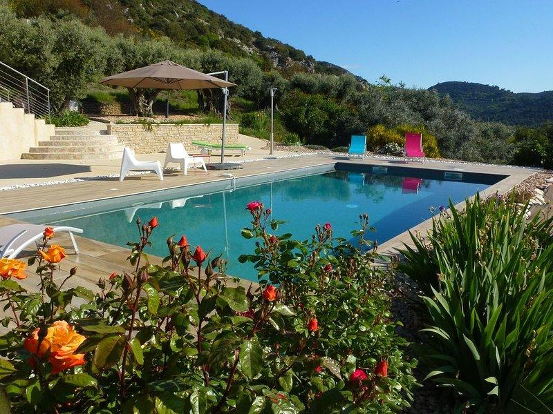 Chambre d'hôtes en Alpes de Hautes Provence - Volx - Piscine chauffée - Escalade, location de vacances à Volx