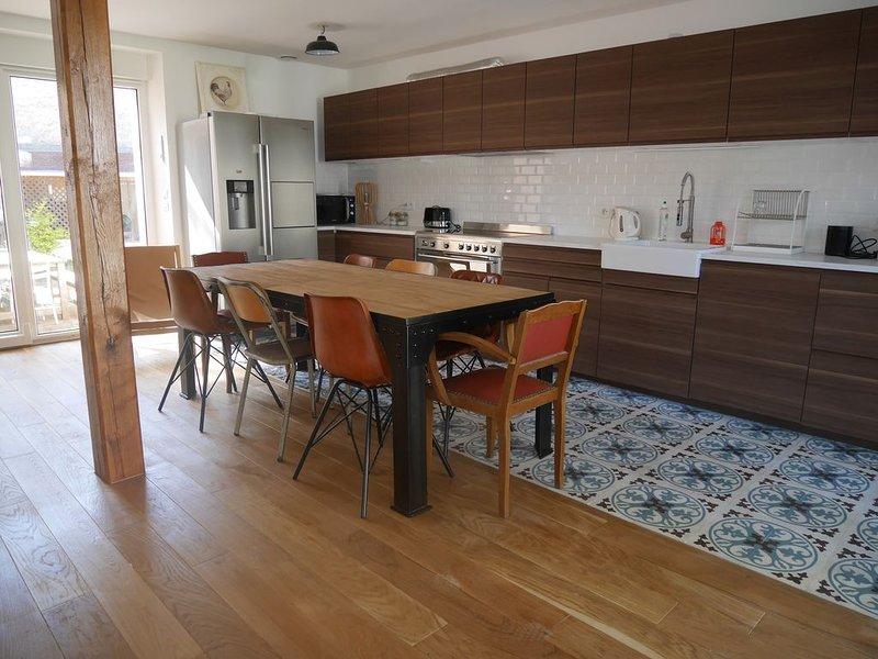 Maison en plein centre de la Baule à 5 min de la plage - 11 personnes, holiday rental in La-Baule-Escoublac