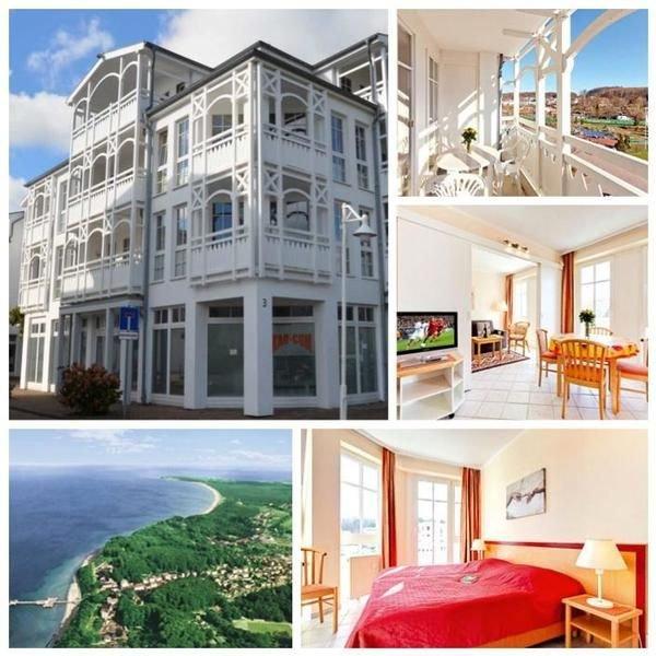 Ferienwohnung Sellin für 2 - 3 Personen mit 1 Schlafzimmer - Ferienwohnung in Vi, casa vacanza a Neuensien