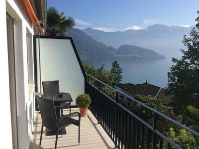 Ferienwohnung Vitznau für 2 - 4 Personen mit 1 Schlafzimmer - Ferienwohnung, vacation rental in Gersau