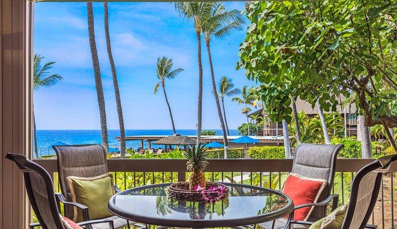 Aloha Condos, Kanaloa at Kona, Condo 2602, Oceanfront, AC, Renovated, alquiler de vacaciones en Kailua-Kona