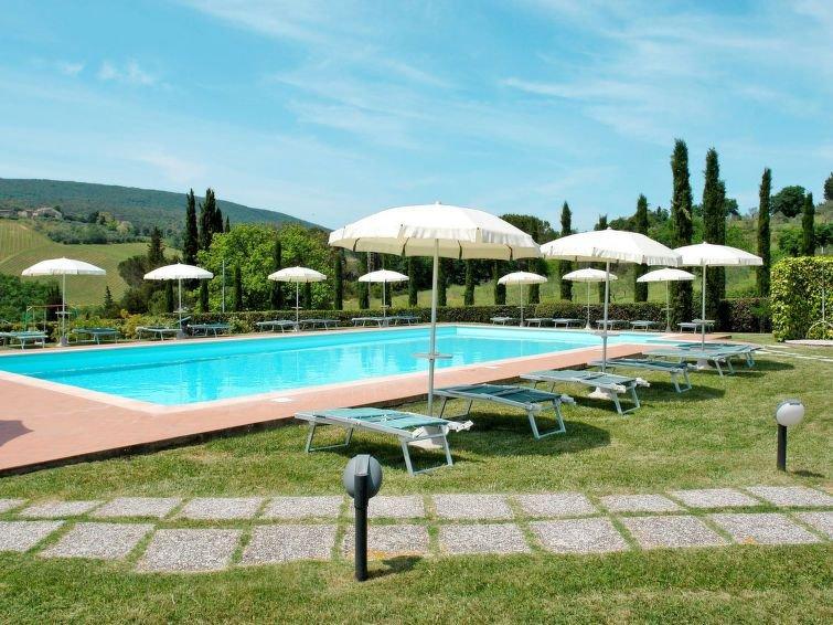 Vacation home Casa La Stellina  in San Gimignano, Siena and surroundings - 6 pe, holiday rental in San Gimignano