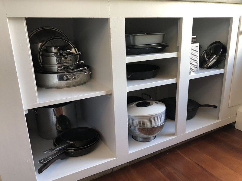 The kitchen is stocked with any and everything that you could possibly need!