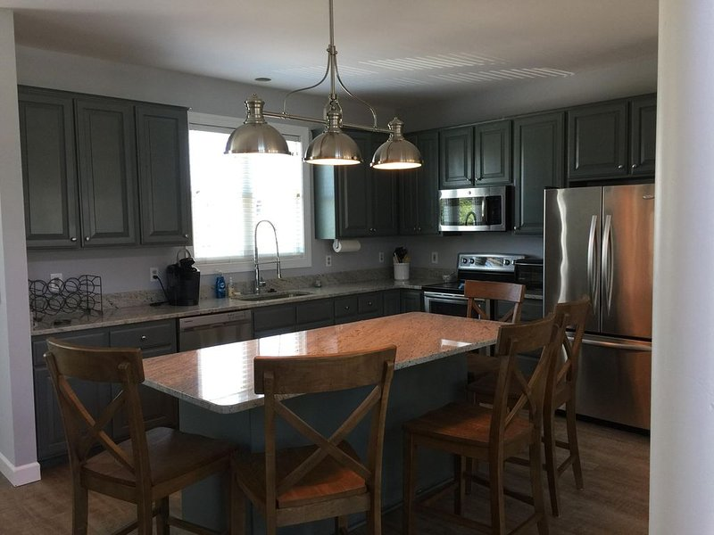 Newly Renovated!  Beautiful Oceanview Home, on North end of Wrightsville Beach, holiday rental in Wrightsville Beach