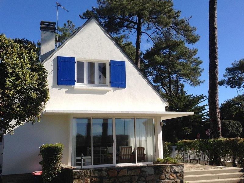 A 50m de la plage RDC d une maison avec jardin, location de vacances à Morbihan