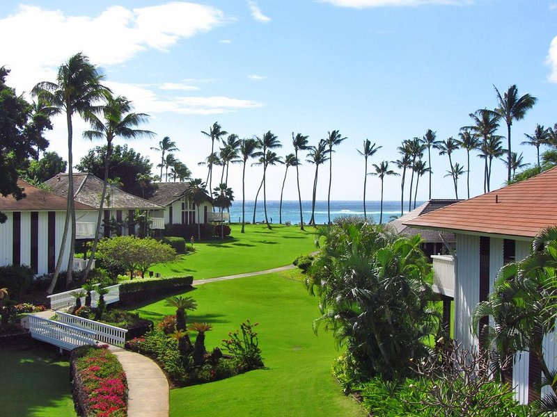Kiahuna Plantation # 76 -2 Bedroom Ocean View - Great Location, holiday rental in Poipu