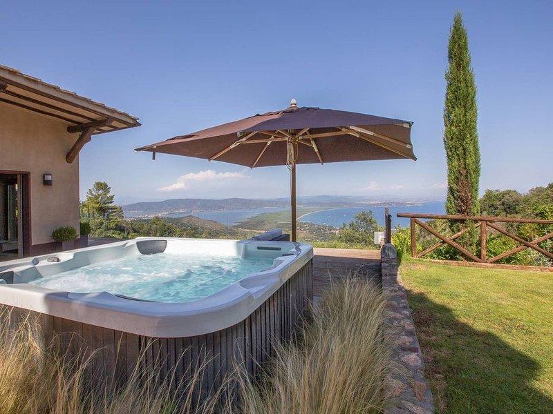 Villaflair - Design villa with sea view, casa vacanza a Isola di Giannutri