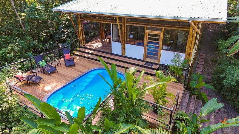 The Sea Monkey House - Jungle & Beach - Santa Teresa Beach Costa Rica - Mal Pais, holiday rental in Mal Pais