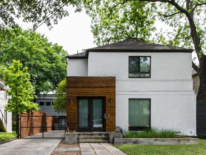 Lakewood/Greenville Modern Lux Central Dallas Home – semesterbostad i Dallas