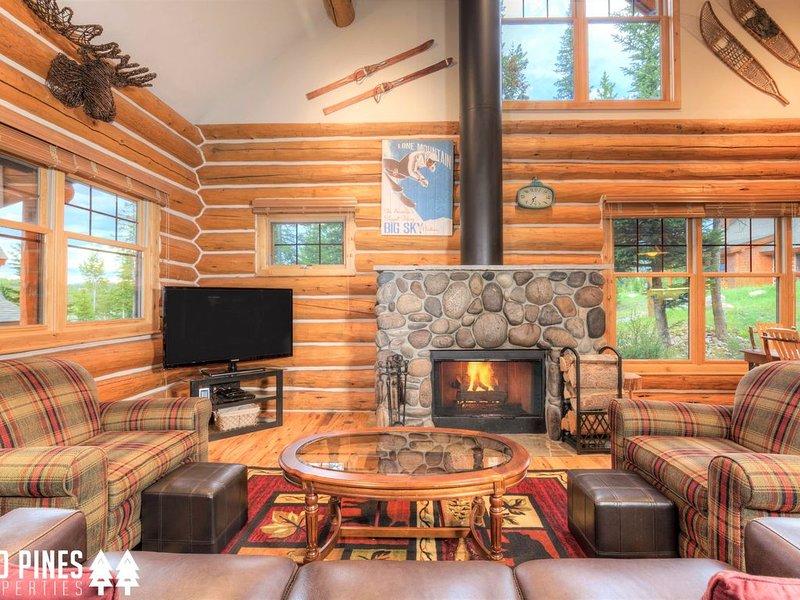 Powder Ridge Cabin | Ski-in/Ski-out | Private Hot Tub | Near Big Sky Resort, aluguéis de temporada em Gallatin Gateway