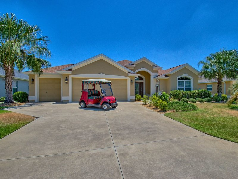 Vacation Home, Golf Cart, presented by RE/MAX Premier Property Management, vacation rental in Leesburg