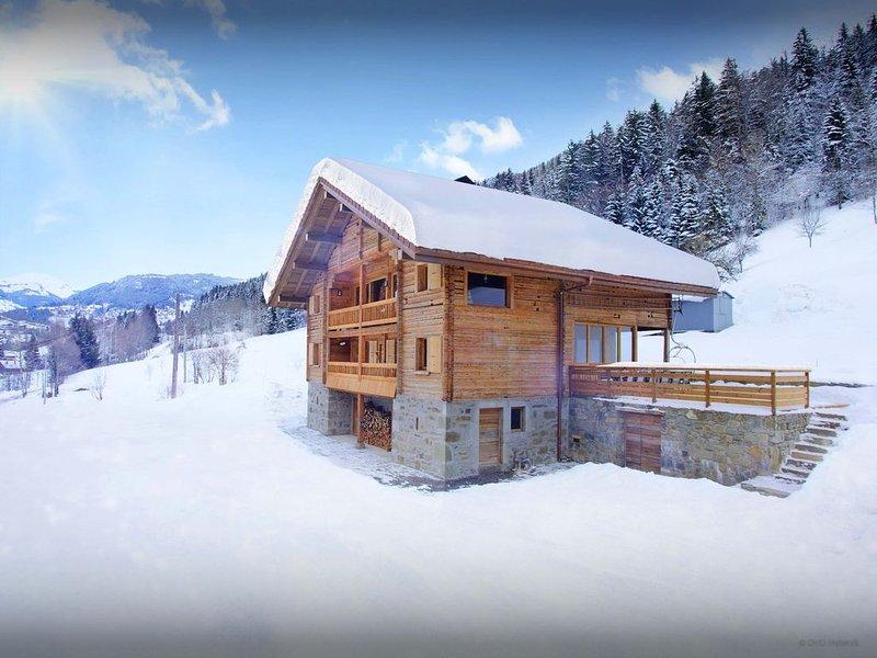 Grand chalet 5 étoiles, proche des pistes de ski - OVO Network, vacation rental in Les Villards-sur-Thones
