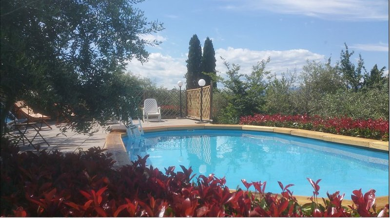 Historic villa in countryside near Florence, vacation rental in Agliana
