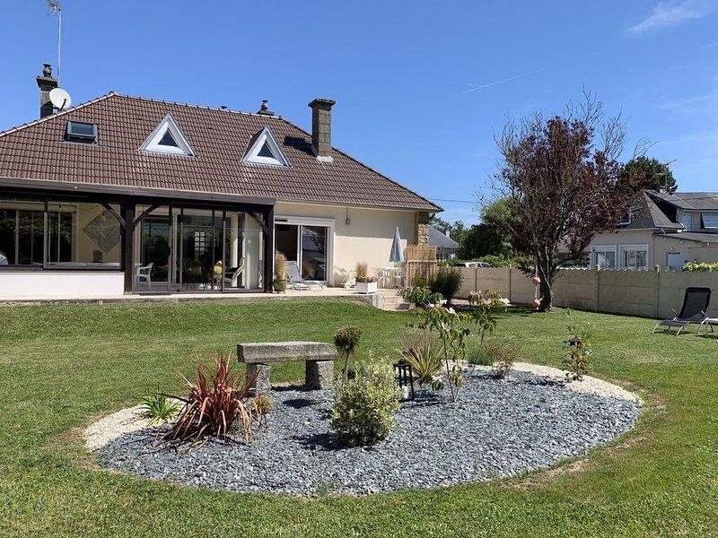 Maison proximité bord de mer à Jullouville (50), location de vacances à Carolles