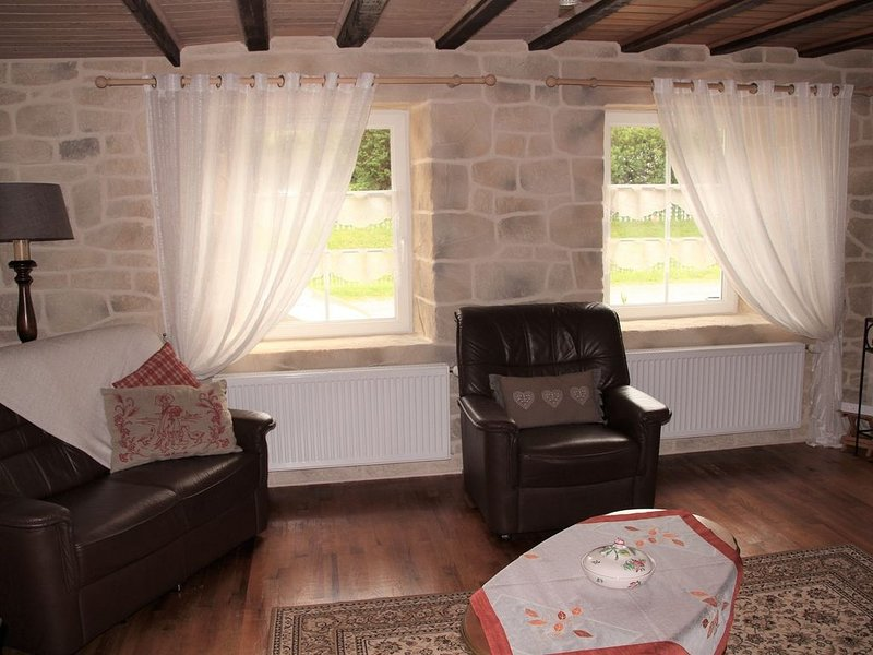Typical Vosges farmhouse renovated in a warm (3 ***), holiday rental in Fraize