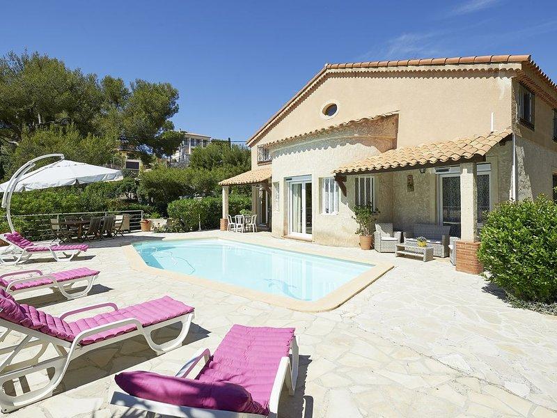 Villa grand confort à 2 pas des Calanques de Cassis, vacation rental in Cassis
