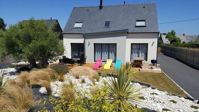 Villa 'Le Temps de Vivre' tout confort avec kayak et paddles à 300 m des plages, location de vacances à Brignogan-Plage