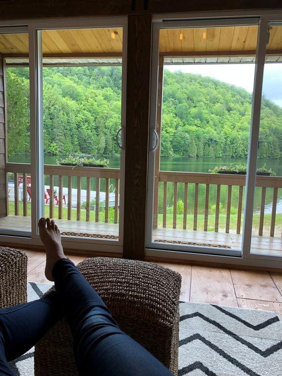 Casa de literas # 2 Vista desde la sala de estar