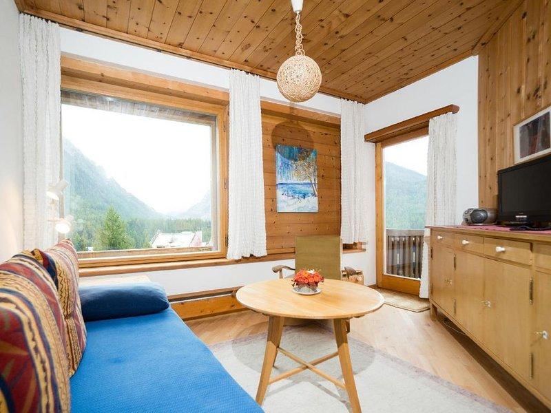 Ferienwohnung Pontresina für 2 - 5 Personen mit 2 Schlafzimmern - Ferienwohnung, vacation rental in Engadin St. Moritz