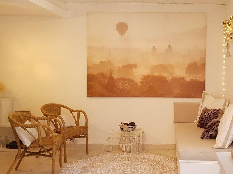 T3 Classified 3 Stars, 2 bedroom, 50m2 garden, sandy beach 450 m, holiday rental in Saint-Raphael