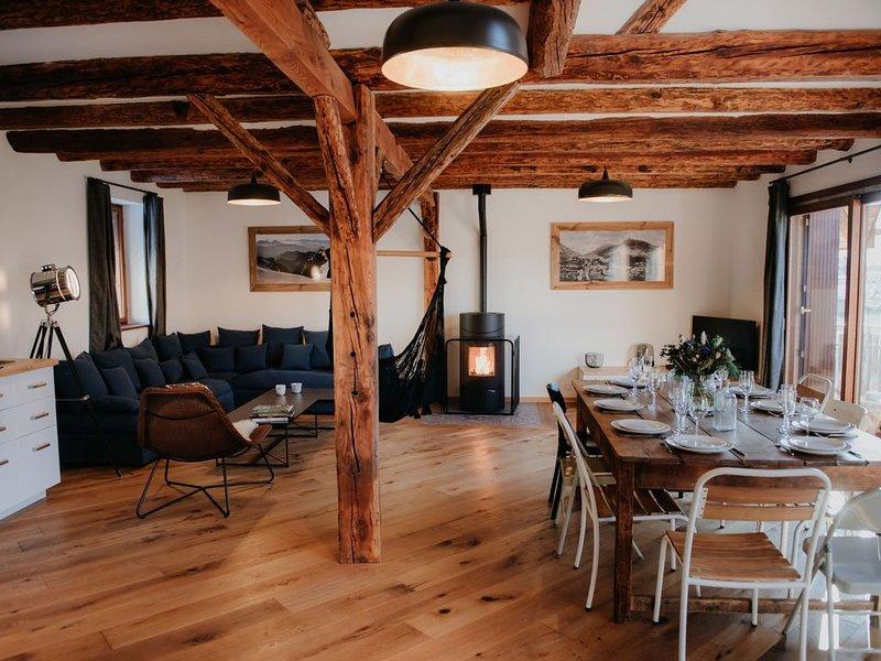 L ESCALP'ADE: Superbe appartement 8-10 personnes SERRE CHEVALIER BRIANCON, location de vacances à Briançon