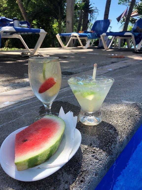 Poolside Drinks at Maracuya!