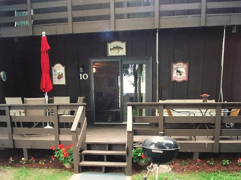 Lakeshore Condominium Cabin on Clearwater Lake, holiday rental in Waite Park