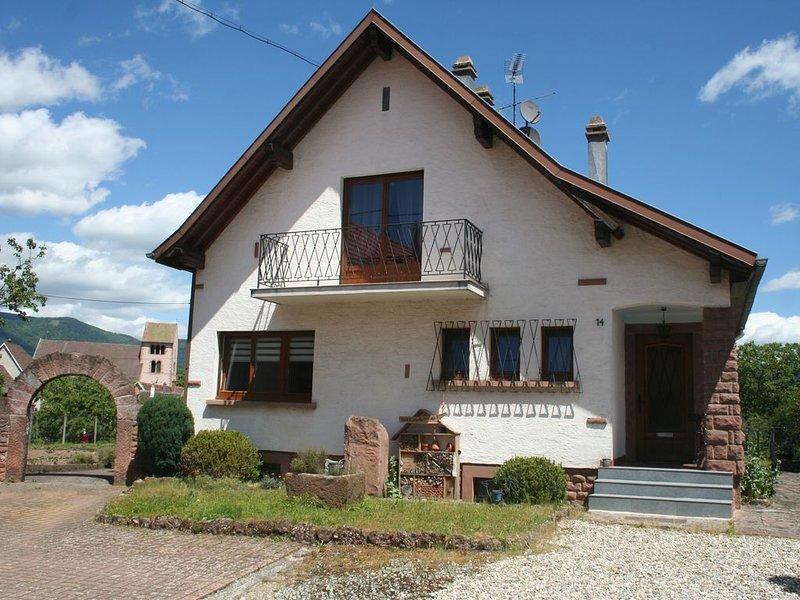 Maison individuelle au coeur de la vallée de Villé, alquiler vacacional en Breitenau