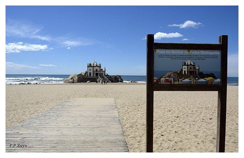 Apartamento em residência a 50 metros da praia e 500m do Golfe de Miramar, Ferienwohnung in Vila Nova de Gaia