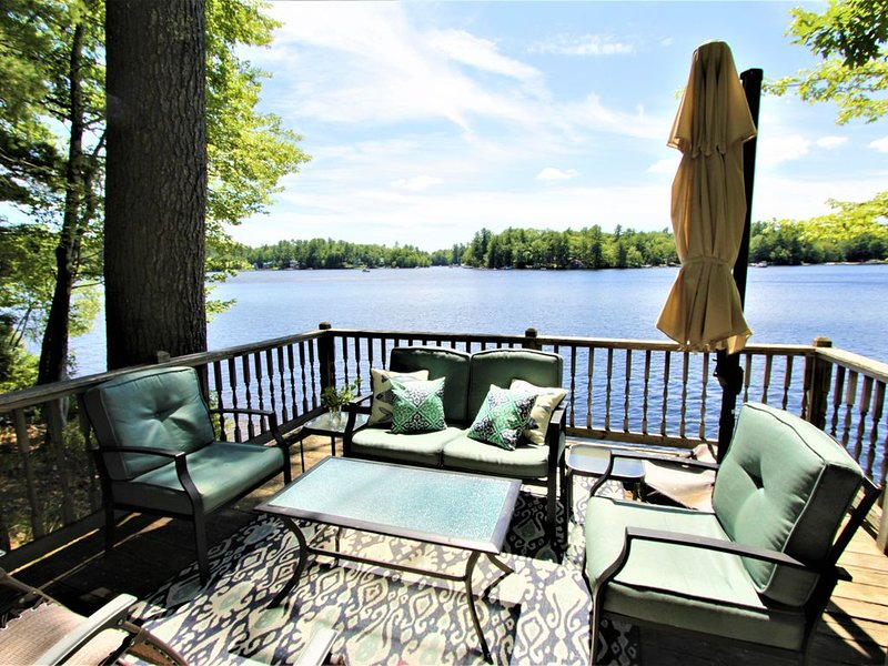 Little Sebago Lake, Lake House, Gray Maine, alquiler de vacaciones en Pownal