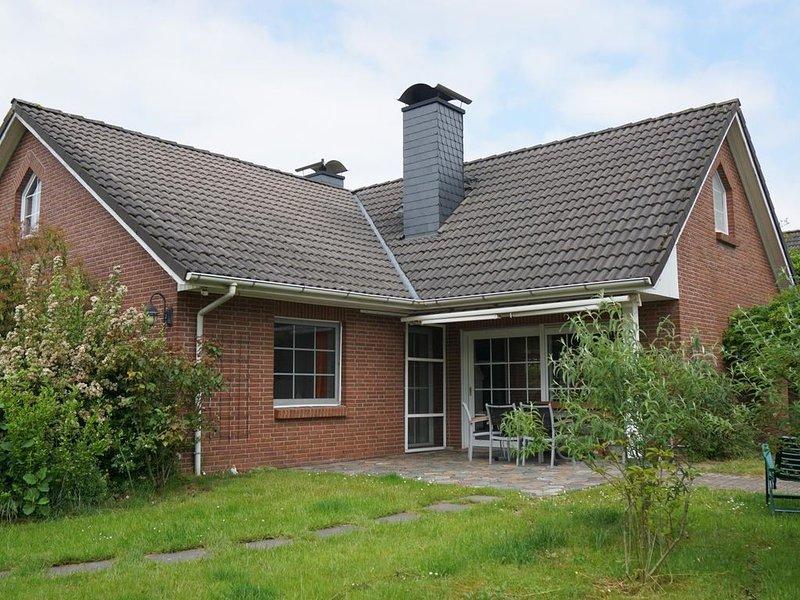 Haus Oase - Großzügiges Luxus Ferienhaus mit offenem Kamin und schönem Naturgart – semesterbostad i Cuxhaven