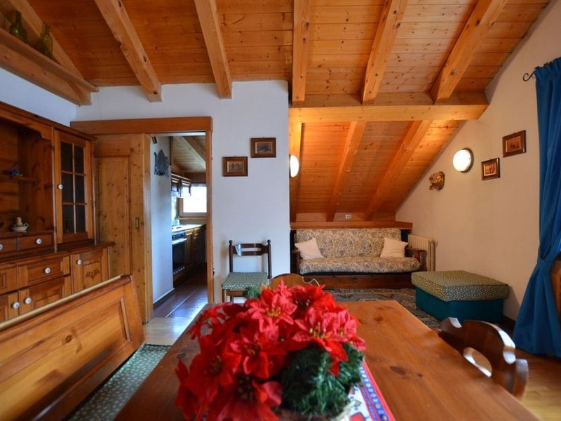Mansarda zona centrale a San Vito di Cadore, holiday rental in Tai di Cadore