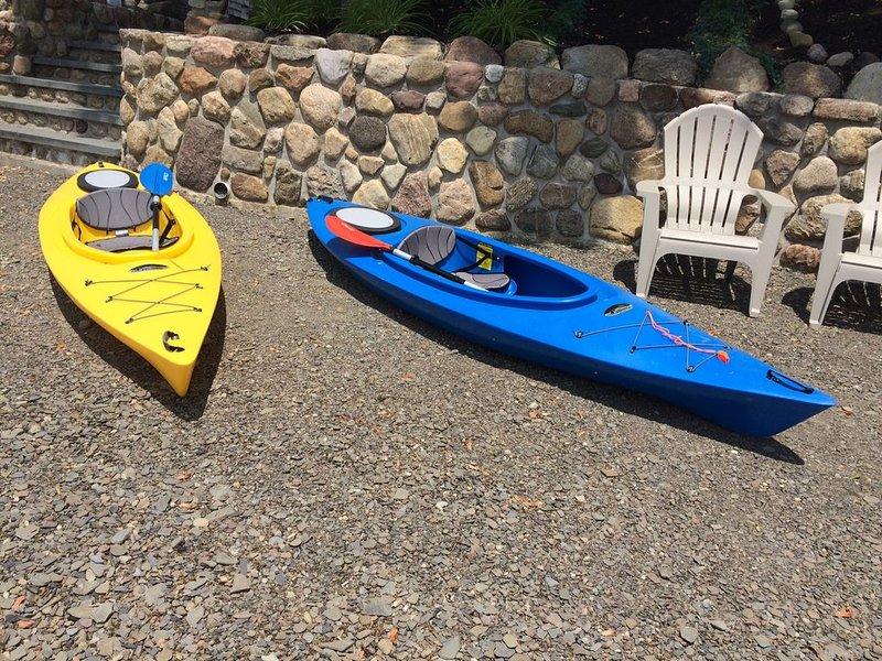 Kayak & Paddleboat are waiting for you!