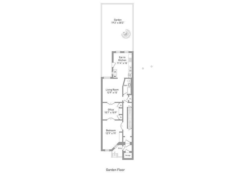 Floorplan of the apartment.