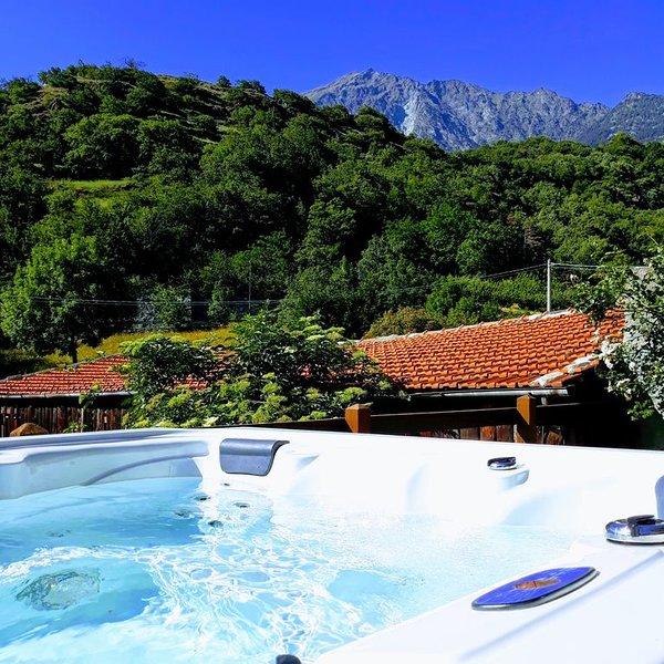 Battito è un alloggio immerso nel verde e nella tranquillità, location de vacances à Champdepraz