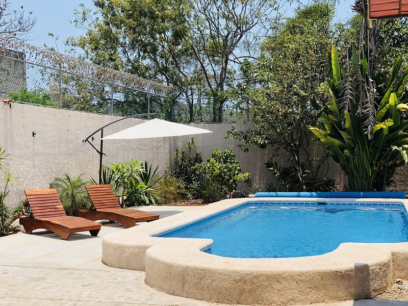 CASA BALAM: Guayabitos! beautiful house with private pool, vacation rental in Rincon de Guayabitos