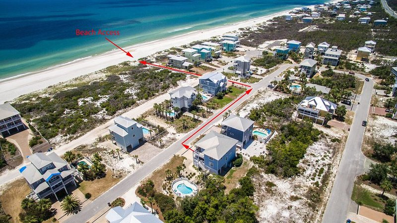 Fácil acceso a la playa
