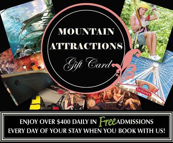 Gatlinburg Cabin Rentals Honeymoon Hills Creekside Cabin Free Gatlinburg Tickets