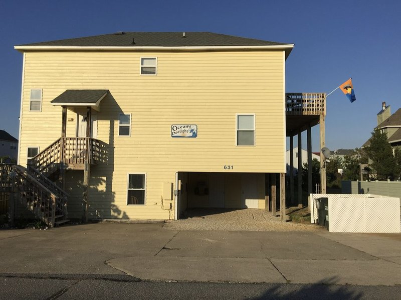 Great for Family Reunions! �️ Young renters accepted, 250yds to beach �Pool/HT – semesterbostad i Corolla