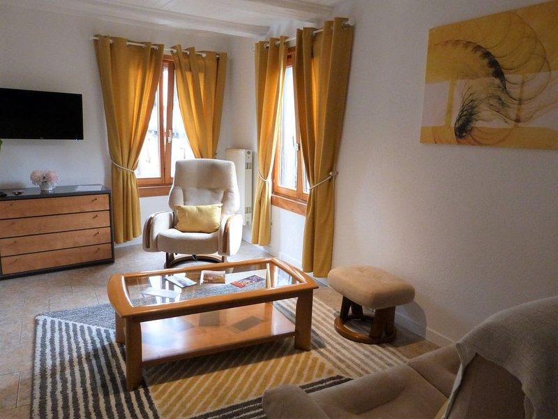 Gîte 'Le Grand Blanc'  *** 60 m2  pour 4 Personnes -Locations du Massif – semesterbostad i Bergheim