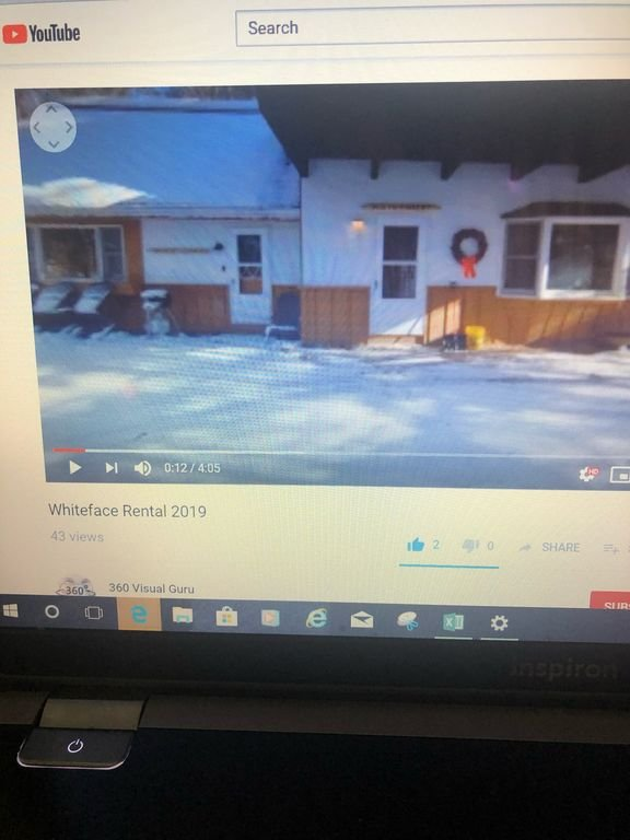 Please visit Whiteface Rental 2019 on YouTube App for 360 video.