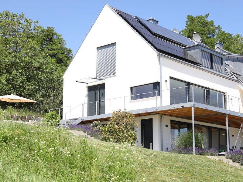 Ferienwohnung in Öhningen-Wangen mit Seeblick, holiday rental in Steckborn