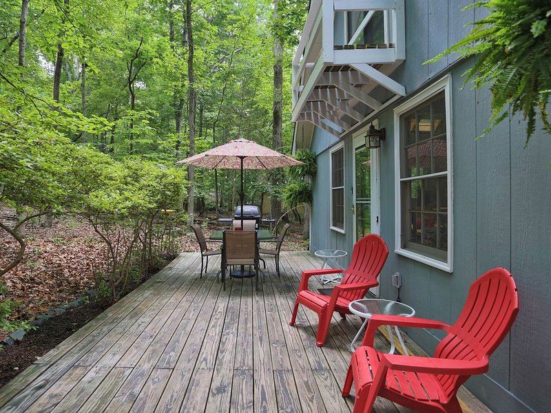 Charming Home Nestled in Forest Near Trails and Duke, location de vacances à Durham