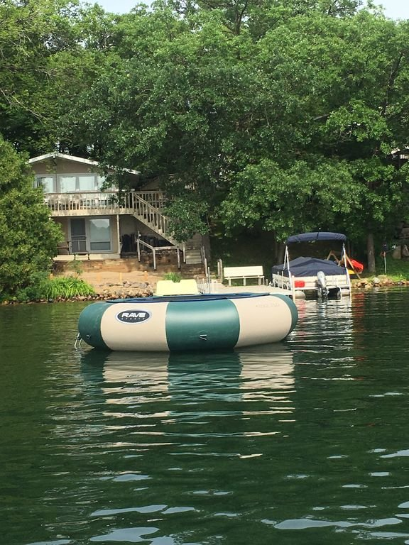 A Swim Raft is available for your use when you stay with us